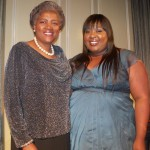 Nnete and Donna Brazille