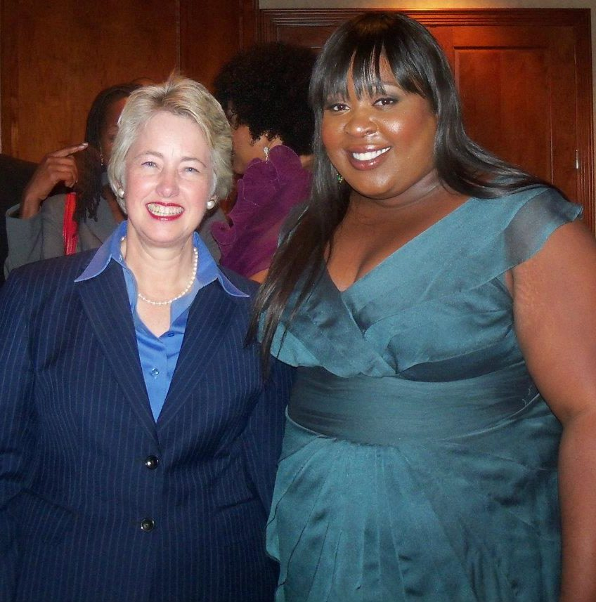 Nnete and Mayor Annise Parker