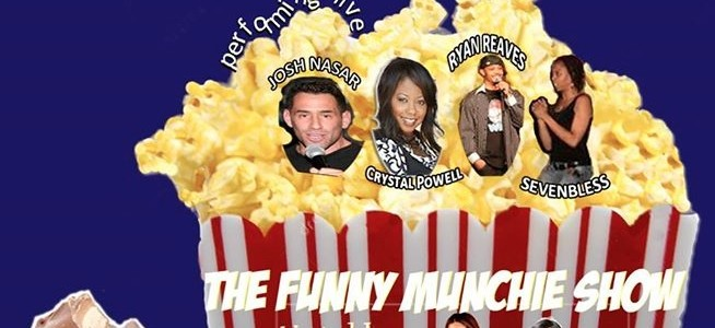 Nnete Co-Hosts The Funny Munchie Show at the Lexington Sunday Nov 17th!